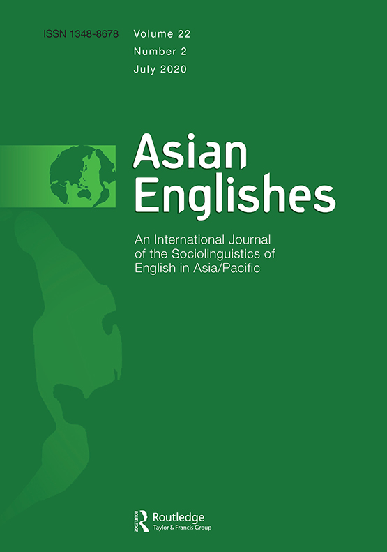 Asian Englishes: Vol 22, No 2