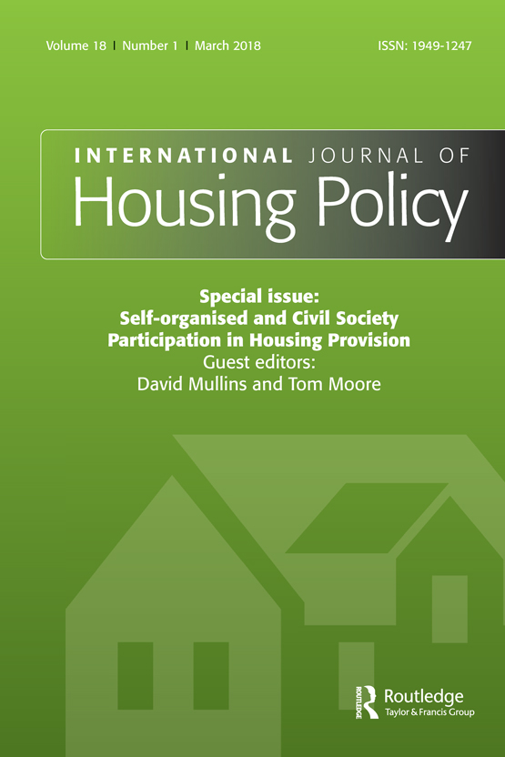 A Review Of Social Housing Definitions And Design Exemplars By Paul Karakusevic And Abigail Batchelor International Journal Of Housing Policy Vol 18 No 1