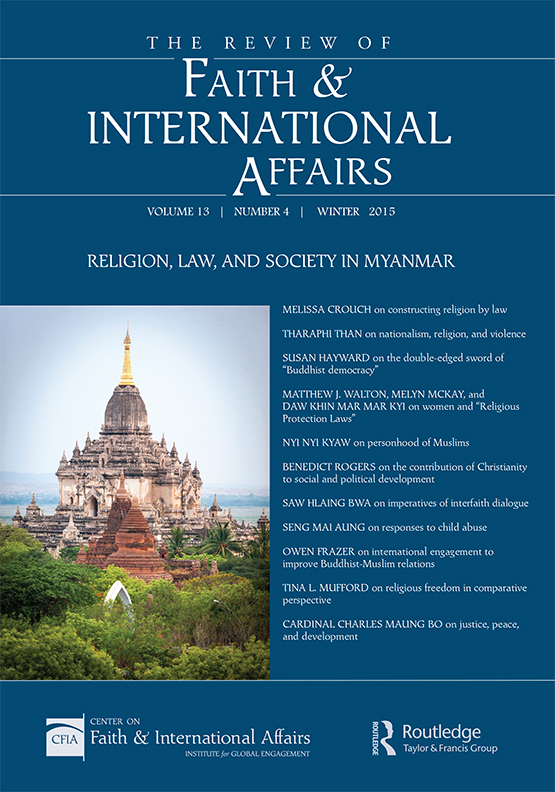 The Review of Faith & International Affairs: Vol 13, No 4