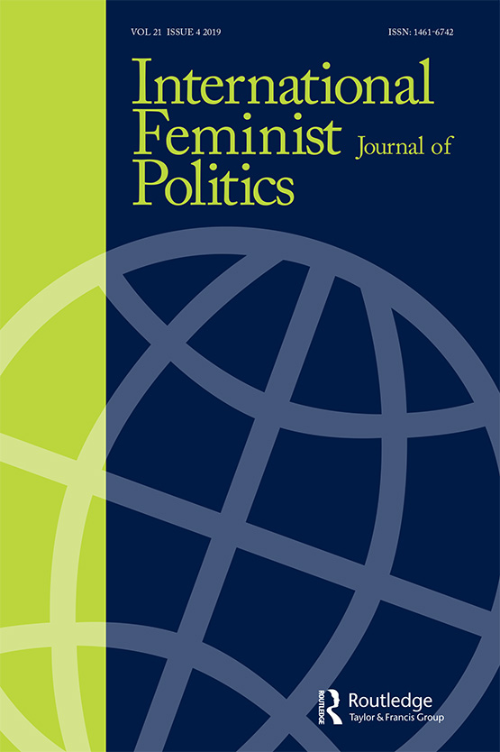 International Feminist Journal of Politics: Vol 21, No 4