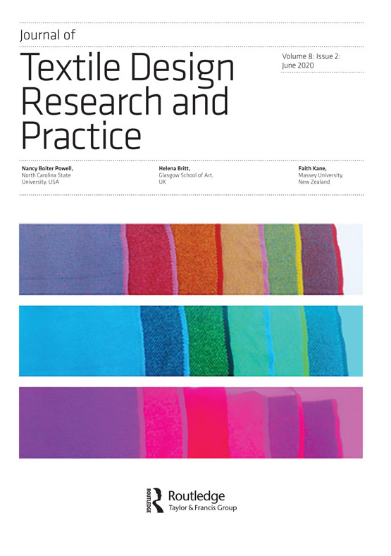 Journal Of Textile Design Research And Practice Vol 8 No 2