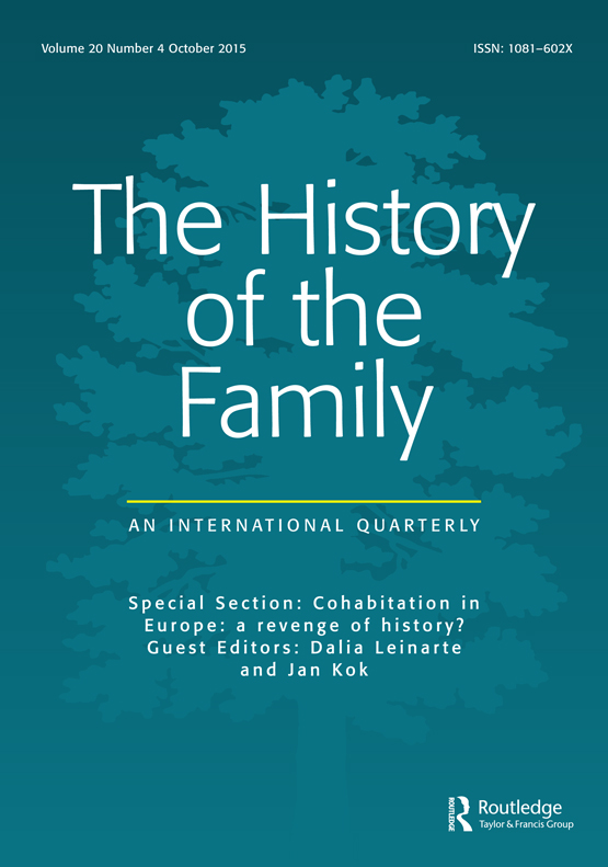 The History of the Family: Vol 20, No 4