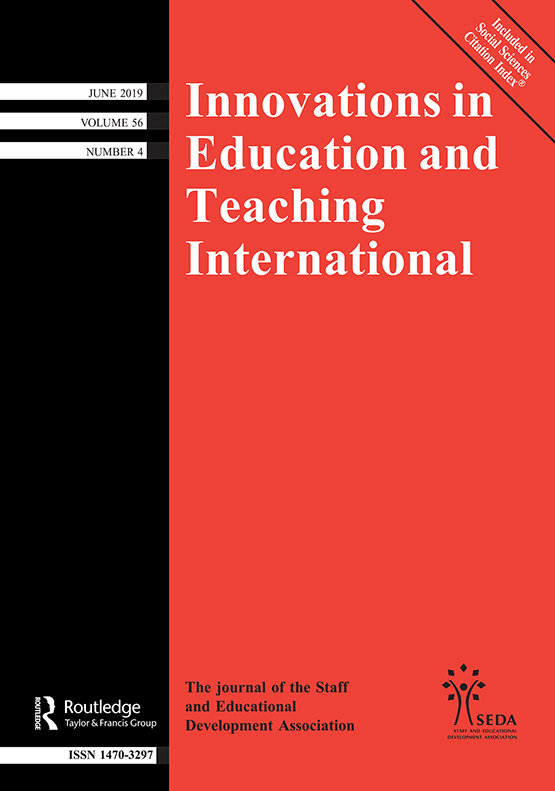 Innovations in Education and Teaching International: Vol 56