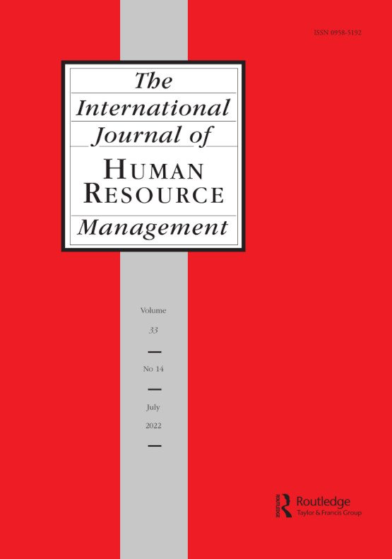 Latest Articles From The International Journal Of Human Resource Management