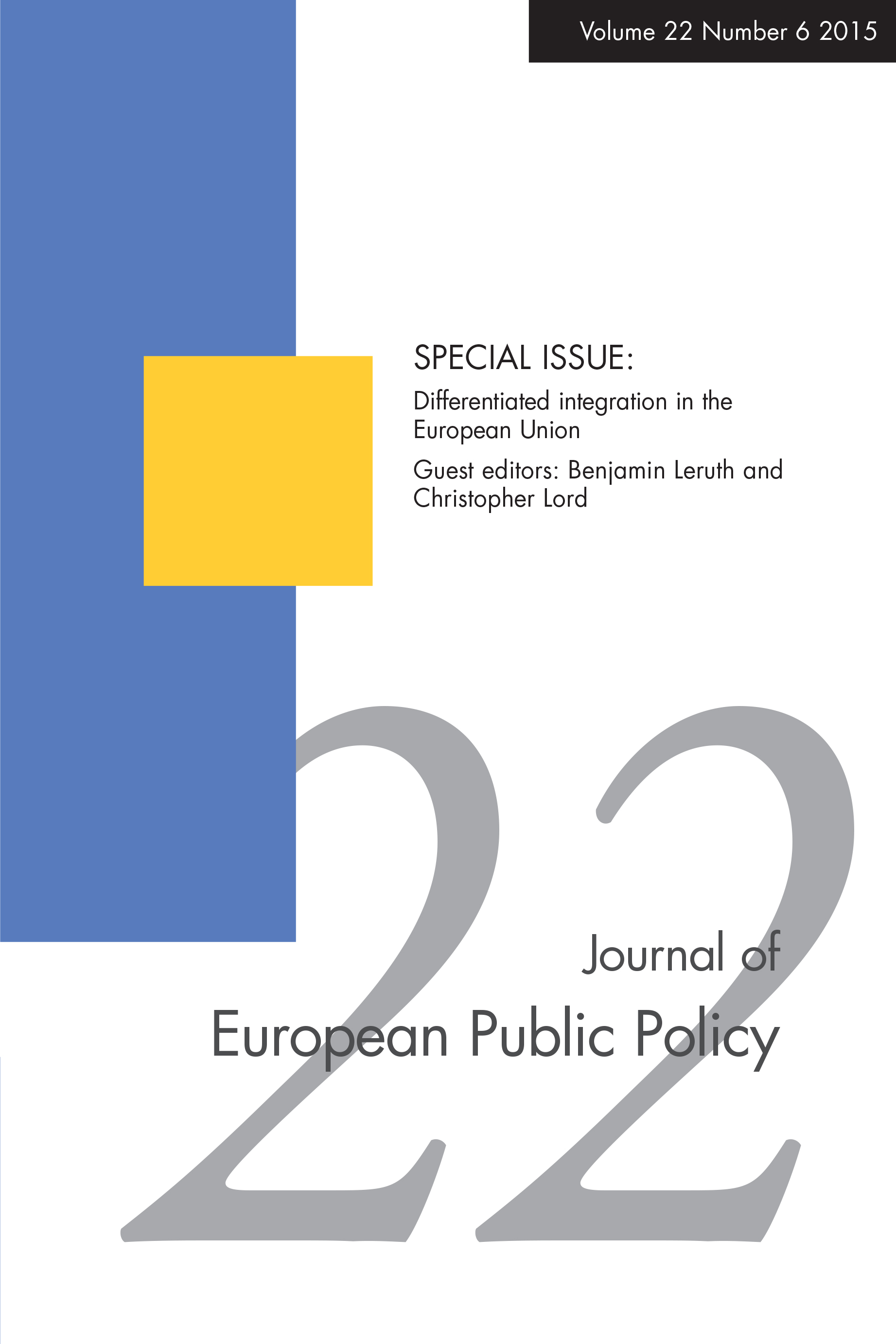 foto de Full article: The European Union as a system of differentiated ...