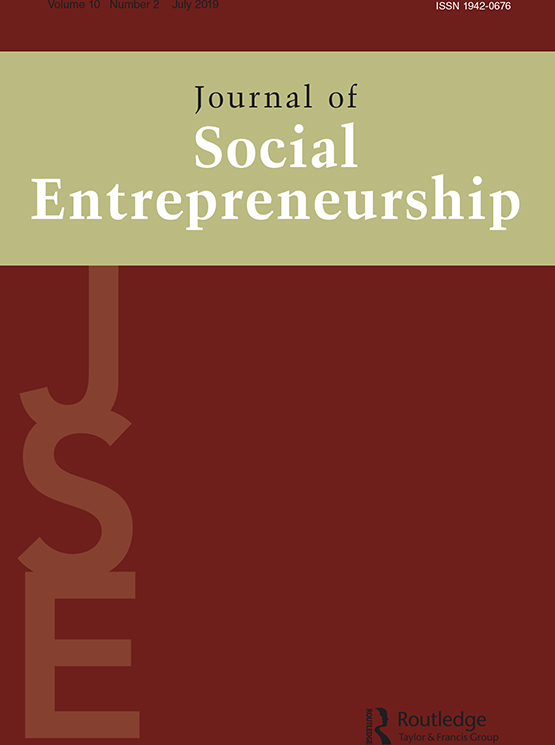 Journal of Social Entrepreneurship: Vol 10, No 2