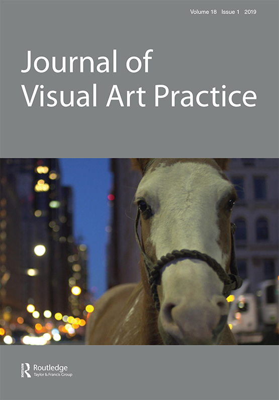 Image result for journal of visual art practice