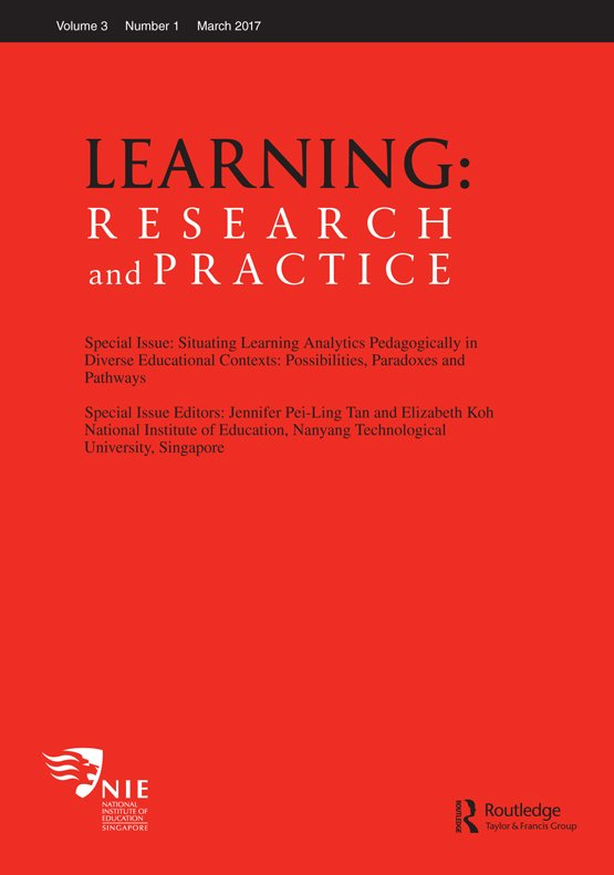 Understanding Idea Flow Applying Learning Analytics In Discourse Learning Research And Practice Vol 3 No 1