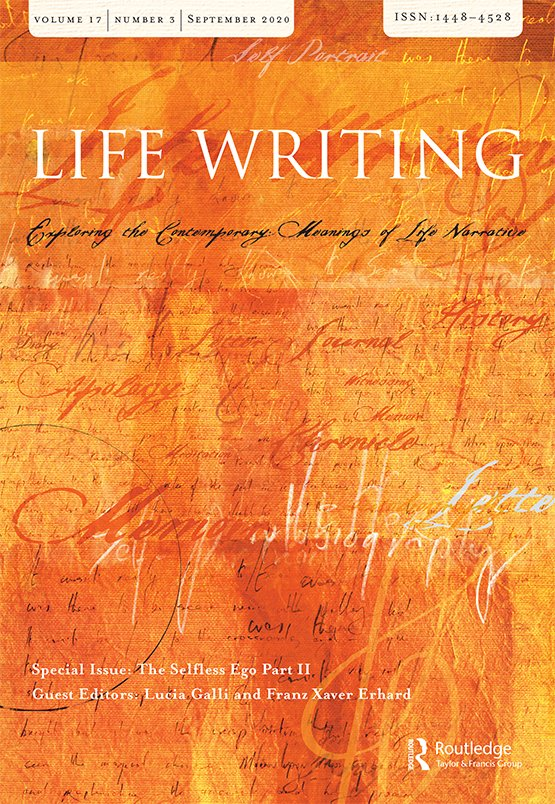 Life Writing: Vol 17, No 3