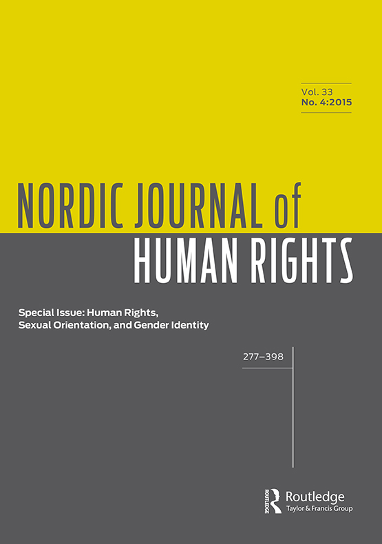 Full Article Legal Gender Meets Reality A Socio Legal Children S Perspective