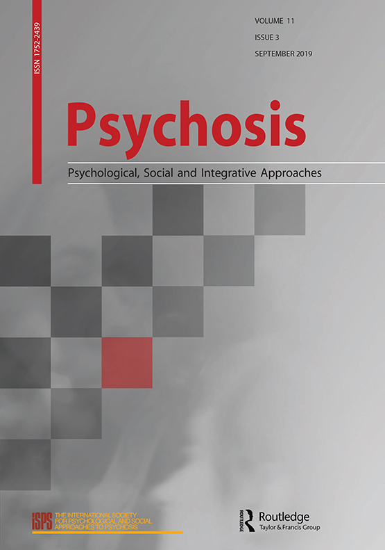 Psychosis: Vol 11, No 3