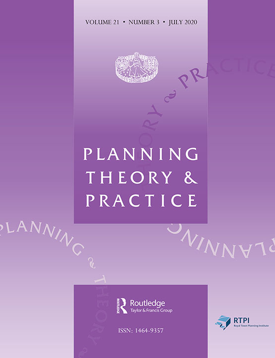 Planning Theory Practice Vol 21 No 3