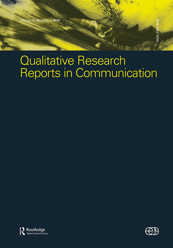 Qualitative Research Reports in Communication cover