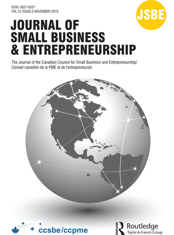 Journal of Small Business & Entrepreneurship: Vol 31, No 6
