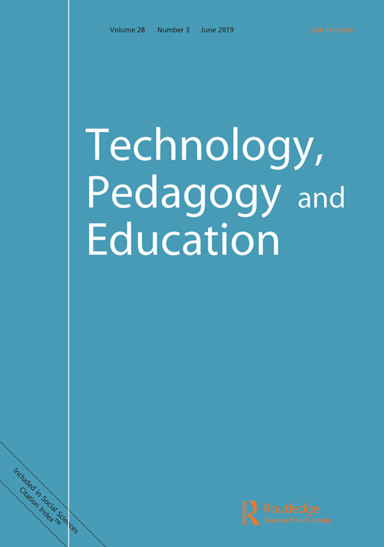 Technology, Pedagogy and Education: Vol 28, No 3