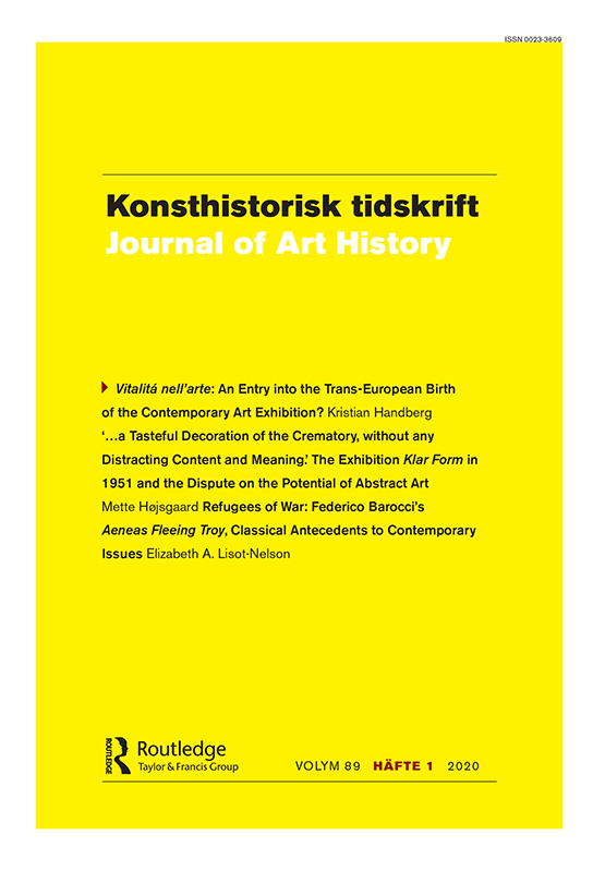 Full Article A Tasteful Decoration Of The Crematory Without Any Distracting Content And Meaning The Exhibition Klar Form In 1951 And The Dispute On The Potential Of Abstract Art