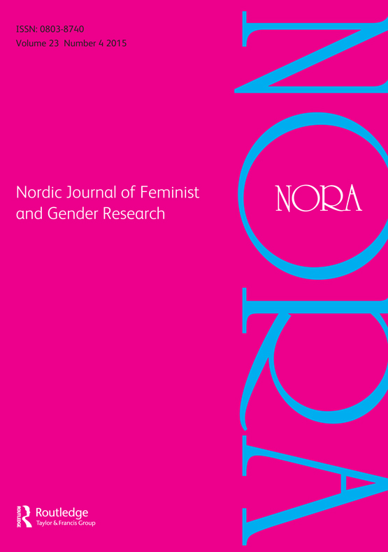 NORA: Nordic Journal of Feminist and Gender Research
