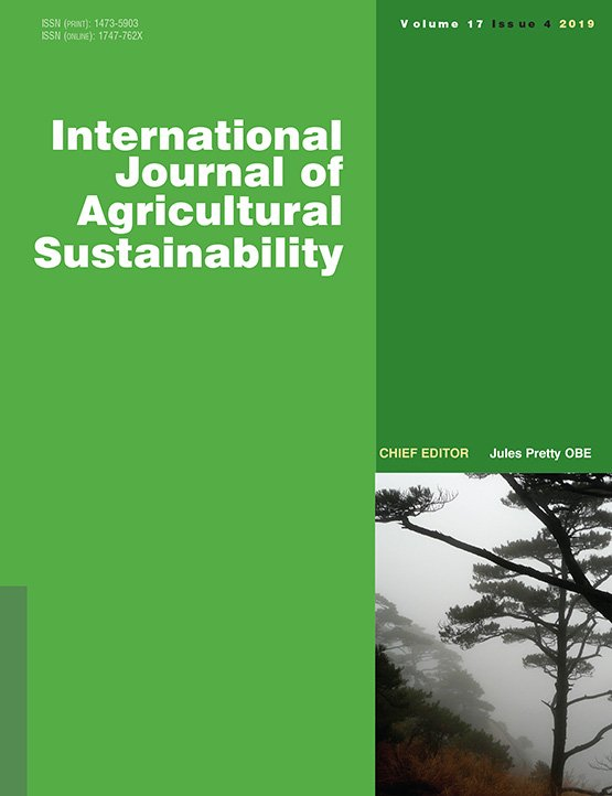 International Journal of Agricultural Sustainability: Vol 17