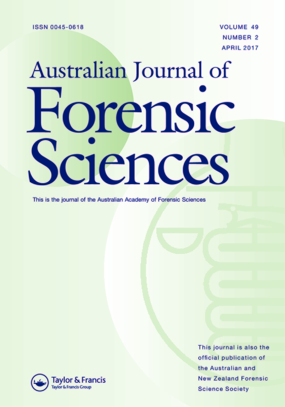 The Development Of Forensic Entomology In Australia And New Zealand An Overview Of Casework Practice Quality Control And Standards Australian Journal Of Forensic Sciences Vol 49 No 2