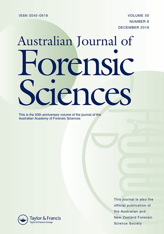 Full Article Forensic Science 2020 The End Of The Crossroads