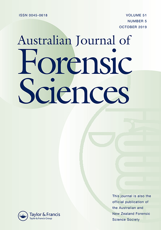 Australian Journal of Forensic Sciences: Vol 51, No 5