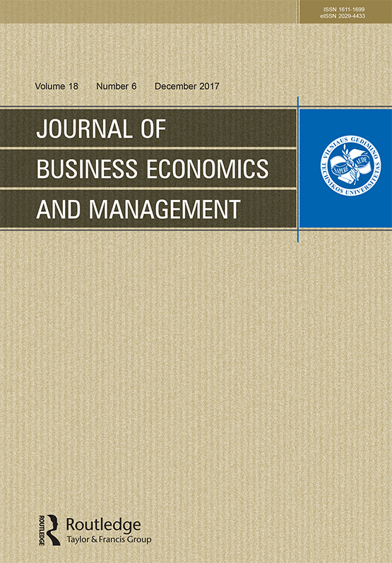 Journal of Business Economics and Management: Vol 18, No 6