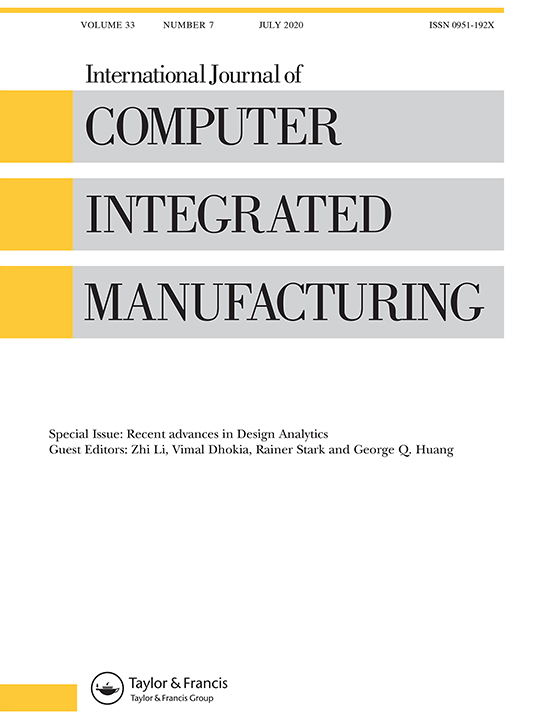 International Journal Of Computer Integrated Manufacturing Vol 33 No 7