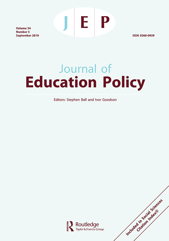 Journal of Education Policy: Vol 34, No 5