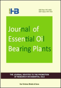 Journal of Essential Oil Bearing Plants: Vol 22, No 3