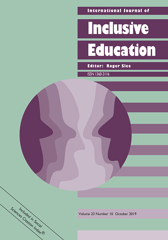 International Journal of Inclusive Education: Vol 23, No 10