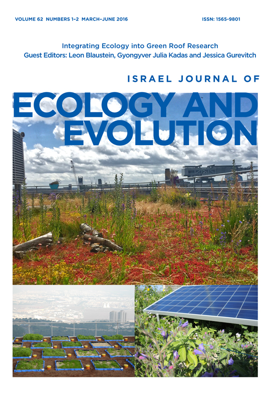 Full Article Spontaneous Dynamics And Wild Design In Green Roofs