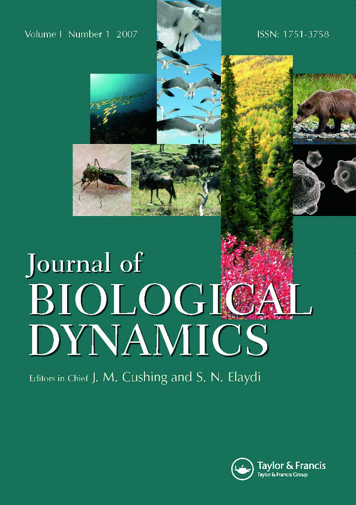 Journal of Biological Dynamics: Vol 13, No 1