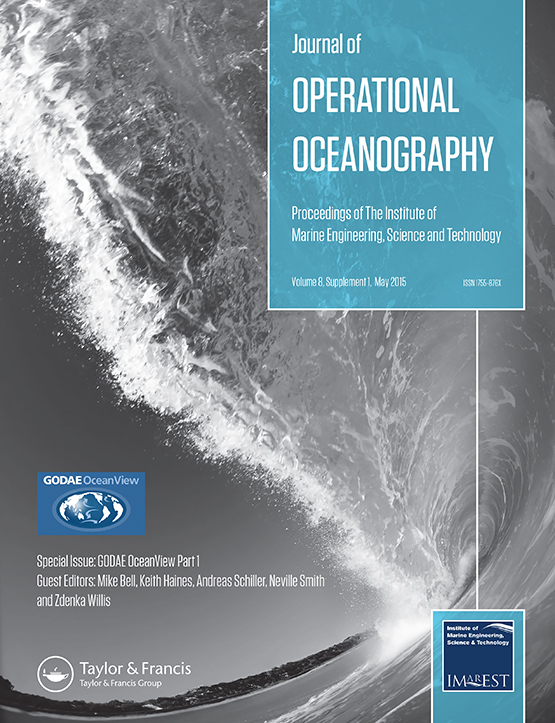 Journal of Operational Oceanography: Vol 8, No sup1