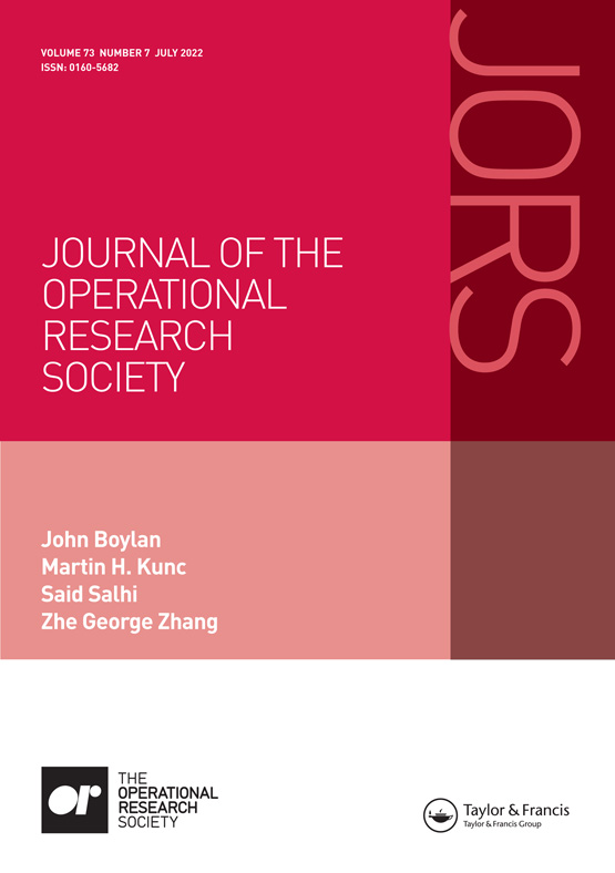Journal of the Operational Research Society: Vol 26, No 3