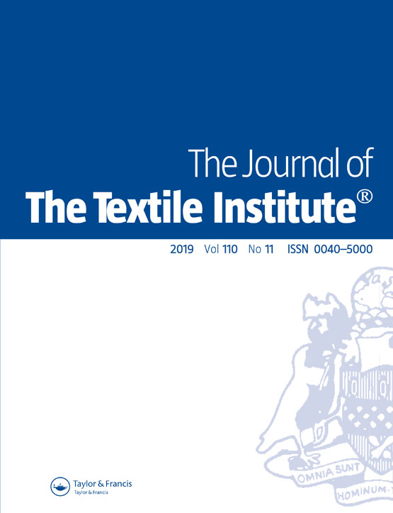 The Journal of The Textile Institute: Vol 110, No 11