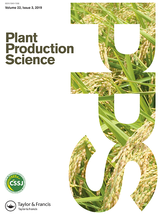 Plant Production Science: Vol 22, No 3