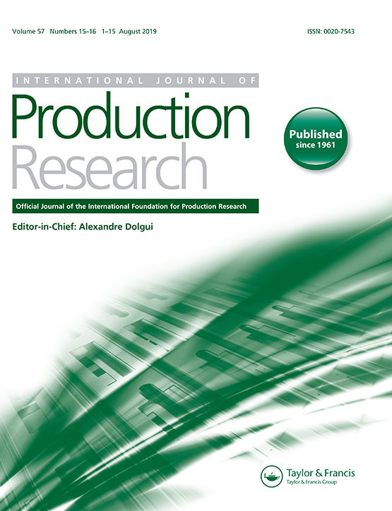 International Journal of Production Research: Vol 57, No 15-16
