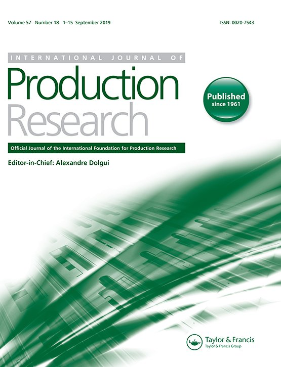 International Journal of Production Research: Vol 57, No 18