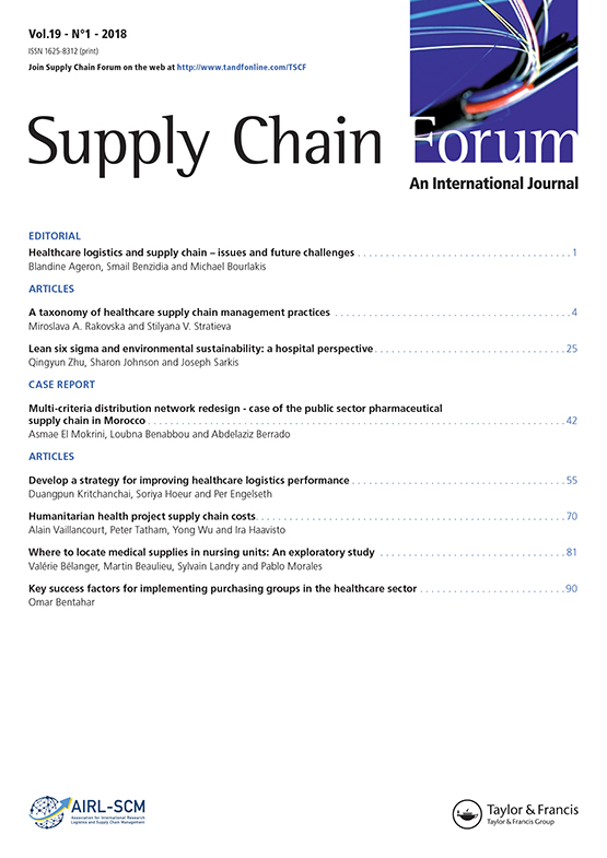 Full Article A Taxonomy Of Healthcare Supply Chain Management Practices