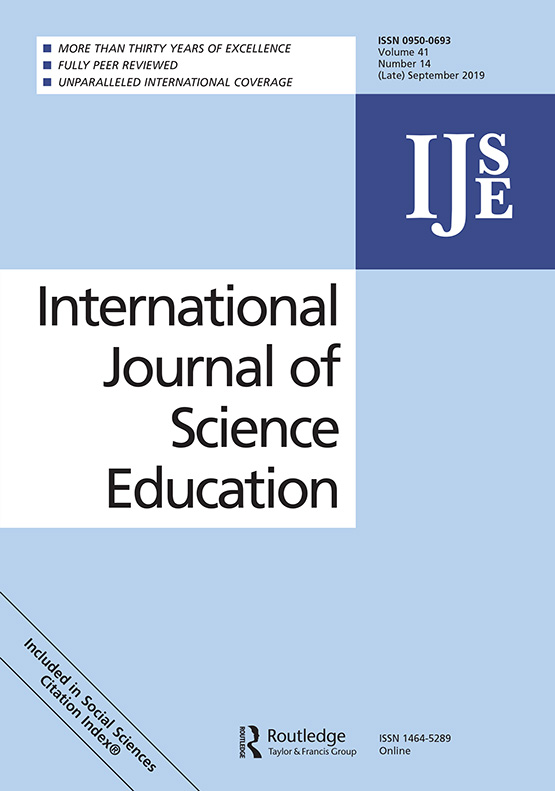 International Journal of Science Education: Vol 41, No 14