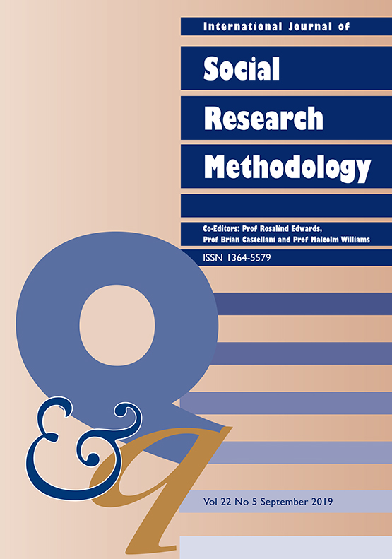 International Journal of Social Research Methodology: Vol 22