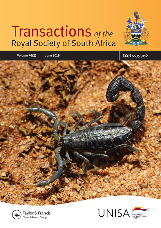 Transactions of the Royal Society of South Africa: Vol 74, No 2