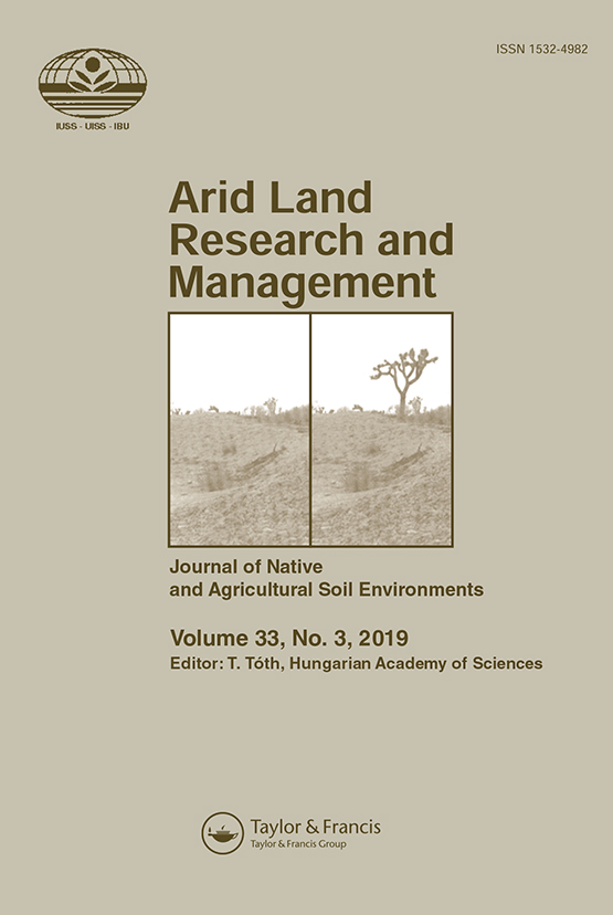 Arid Land Research and Management: Vol 33, No 3