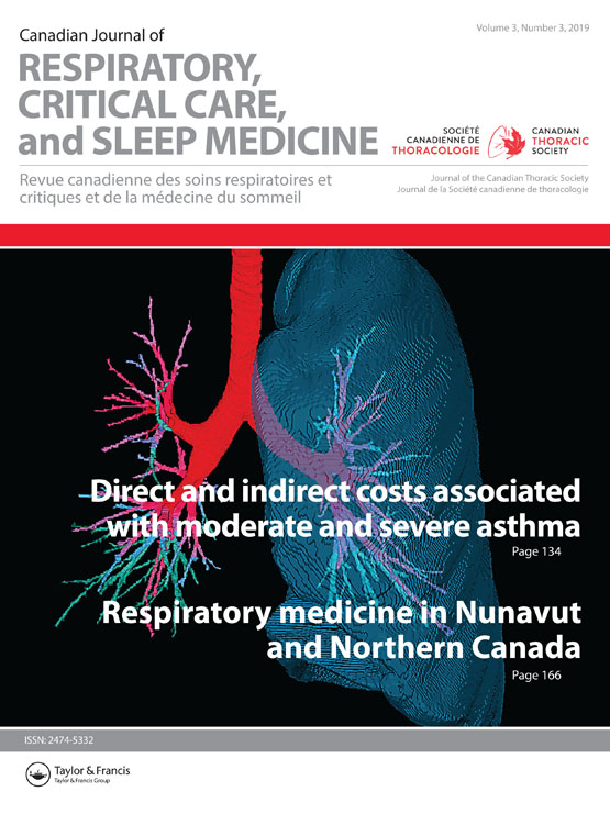 Canadian Journal of Respiratory, Critical Care, and Sleep