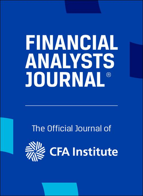 Financial Analysts Journal: Vol 75, No 3