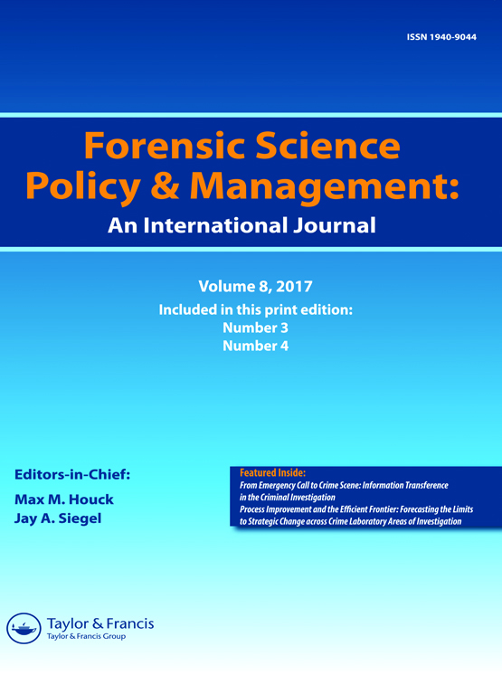 Forensic Science Policy & Management: An International