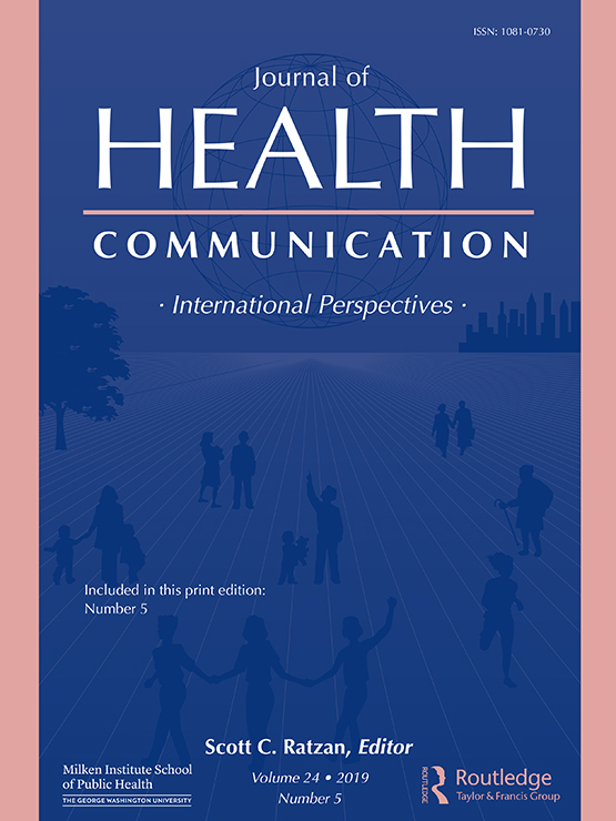 Image result for health communication journal cover