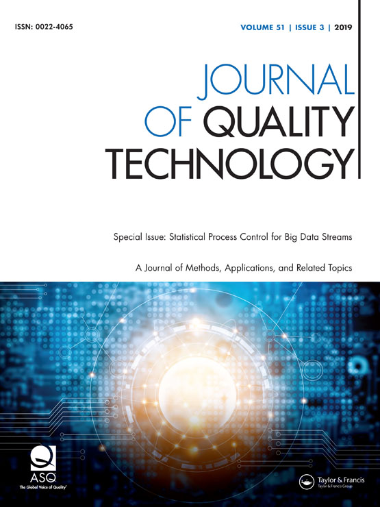 Journal of Quality Technology: Vol 51, No 3