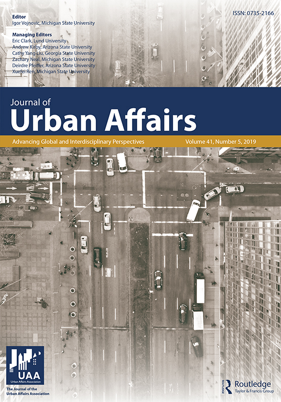 Journal of Urban Affairs: Vol 41, No 5