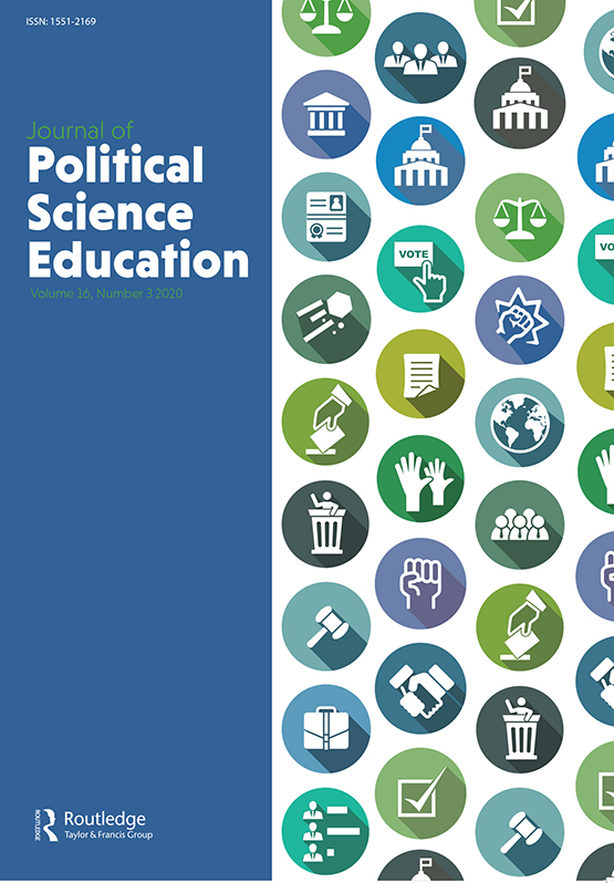 Journal Of Political Science Education Vol 16 No 3